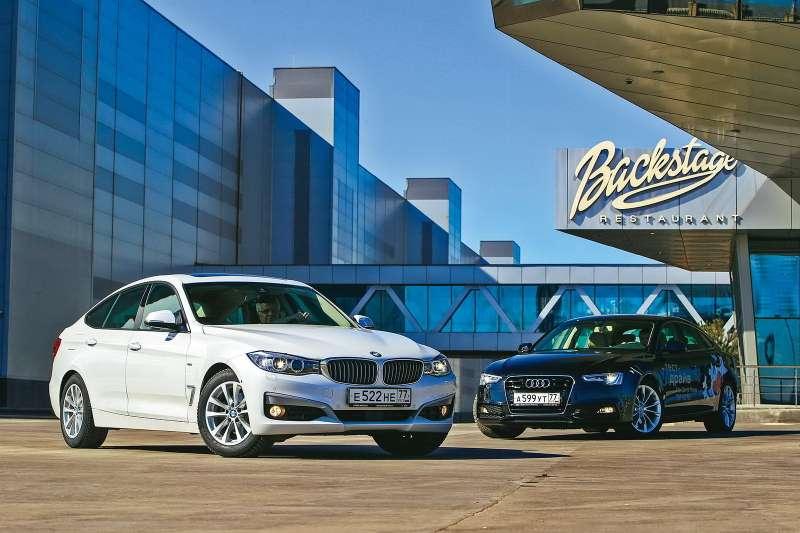 Audi A5Sportback  BMW 3GT