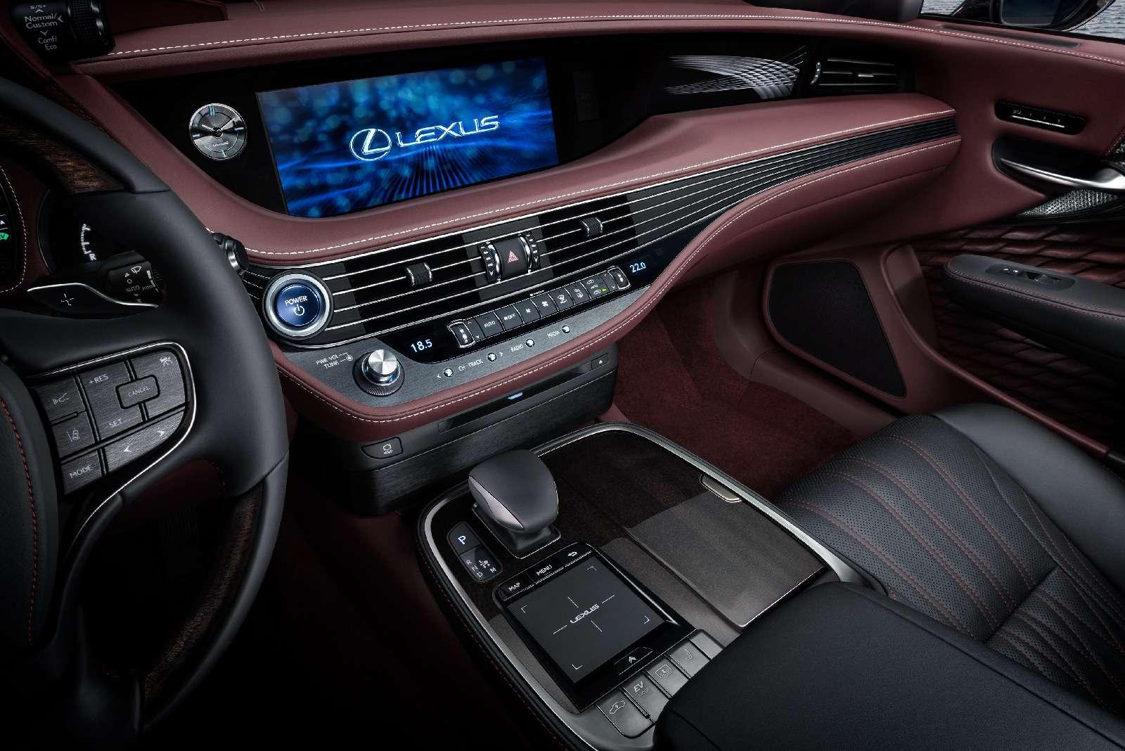 Новый Lexus LSпредстал вЖеневе вгибридном исполнении 500h— фото 718373
