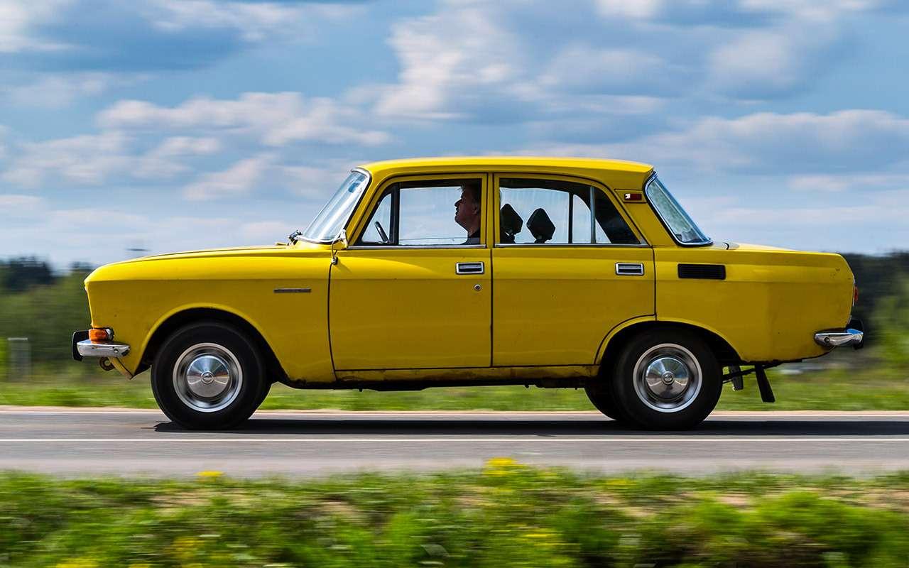 Машины нашего детства— ретротест Москвича-2140— фото 811233