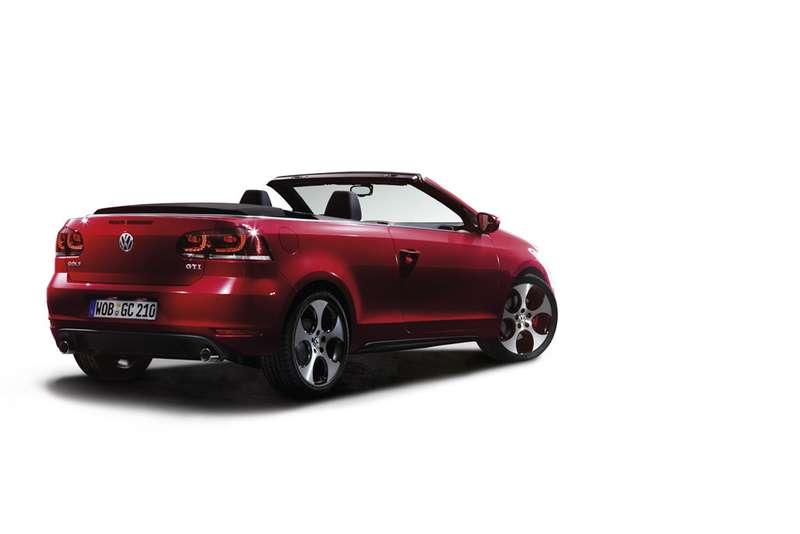 Dasneue Volkswagen Golf GTI Cabriolet
