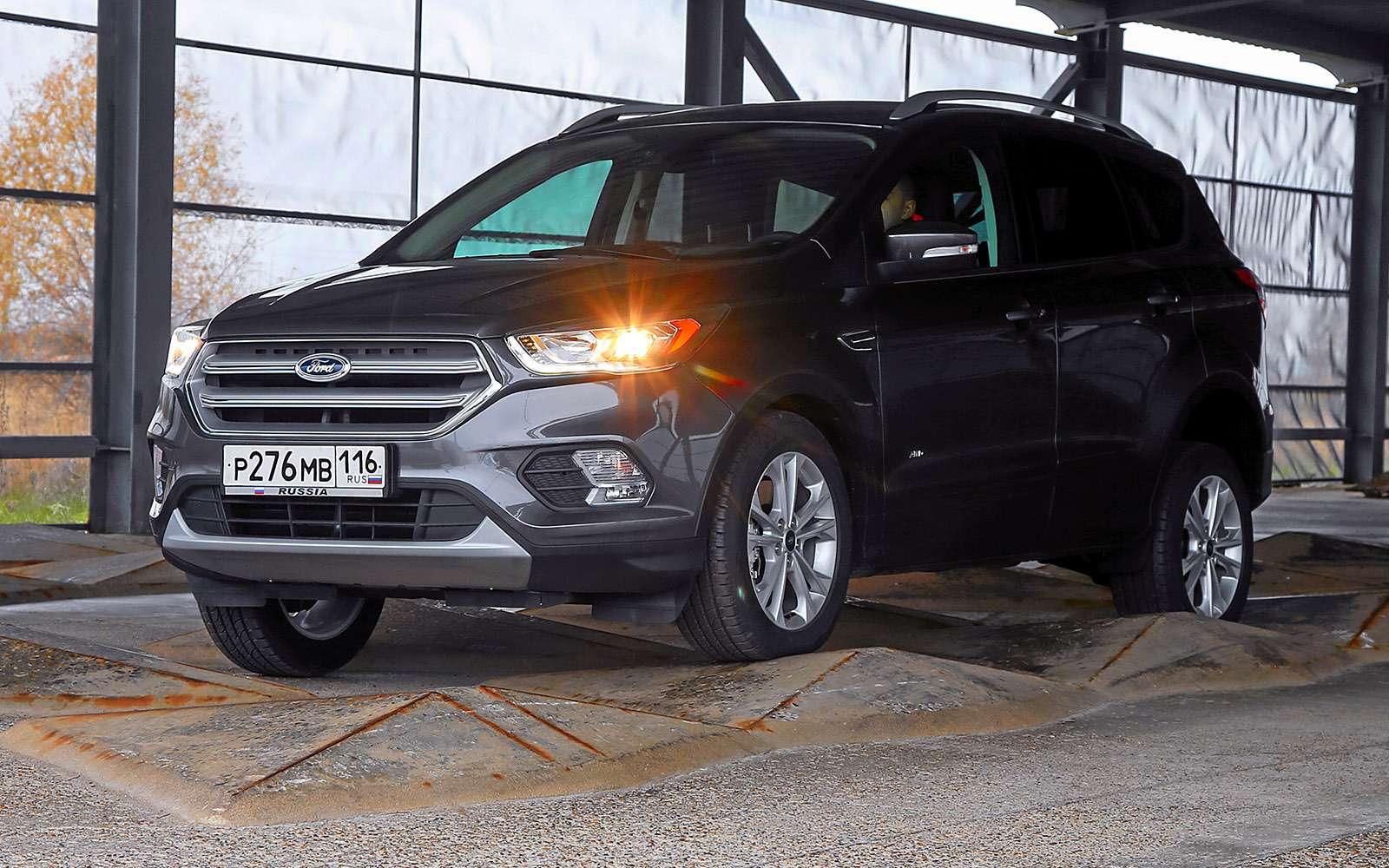 Обновленный Ford Kuga российской сборки: мыпоездили нанем первыми!— фото 674493