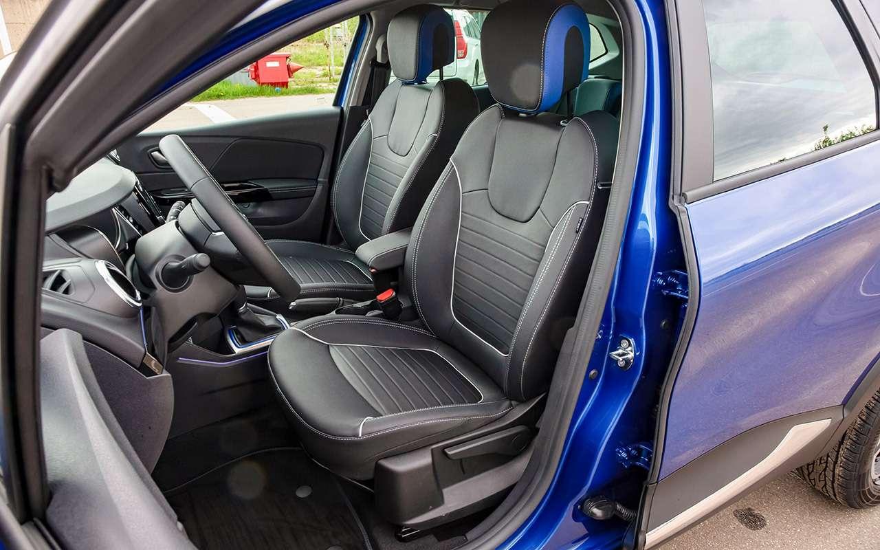Renault Kaptur 2020: тест-драйв ивсе изменения— фото 1142430