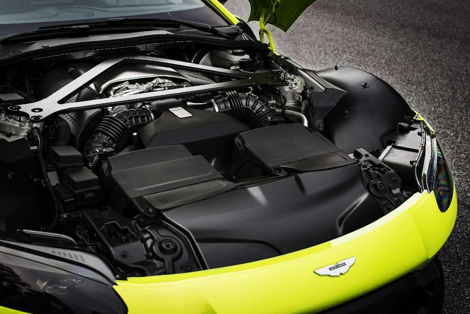 Проверено Джеймсом Бондом: представлен новый Aston Martin Vantage— фото 818857