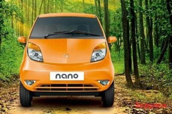 Tata Nano front view