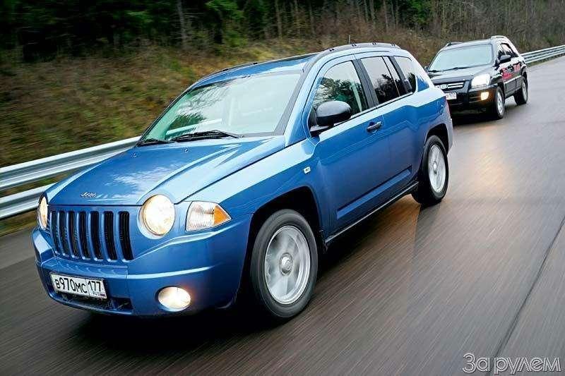 Тест Jeep Compass, Kia Sportage. Смешать, ноневзбалтывать— фото 70566