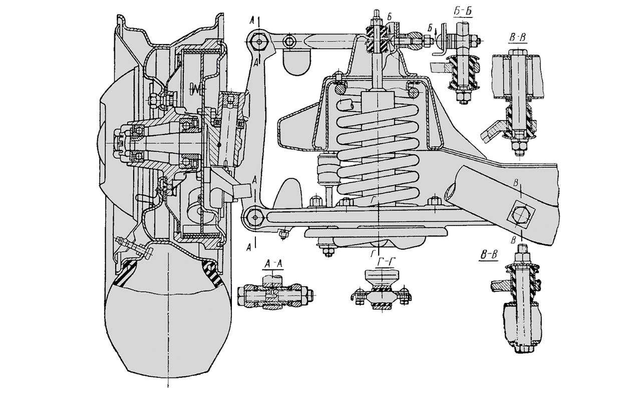 Чайка ГАЗ-14и ееамериканские «уши»— фото 1274115