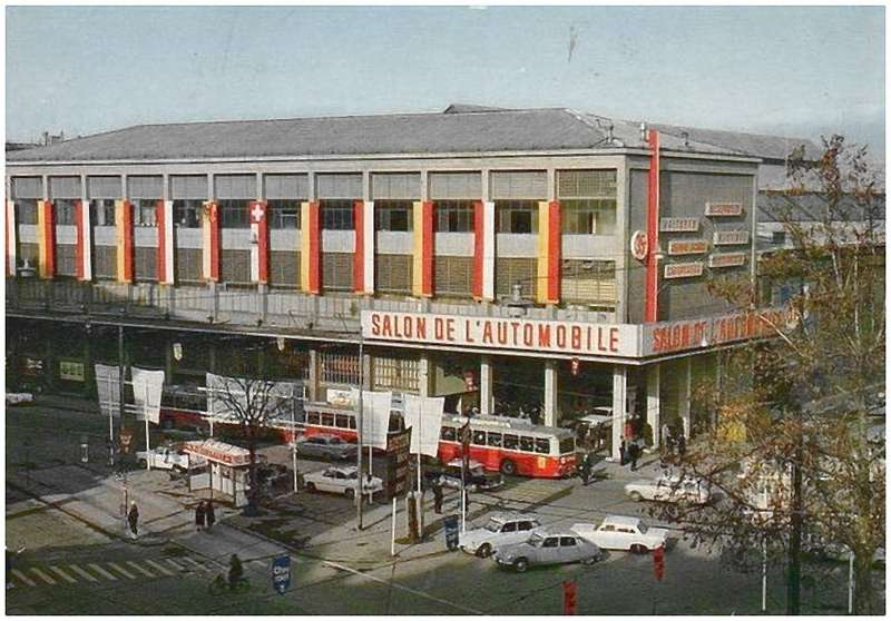 В 1960-е годы Женевский автосалон проводился впристройке кцентральному вокзалу Корнаван.