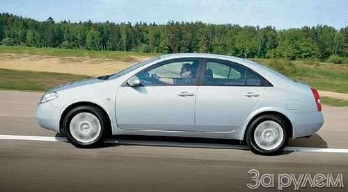 Тест Nissan Primera, Renault Laguna. Пробы нафотогеничность.— фото 29414