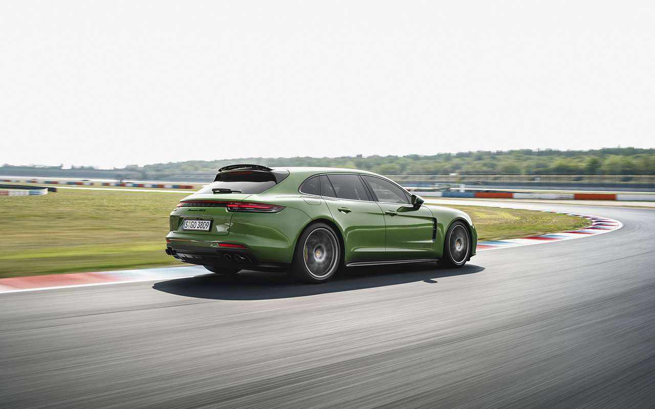 Porsche Panamera GTS: теперь ивкузове универсал!— фото 926355