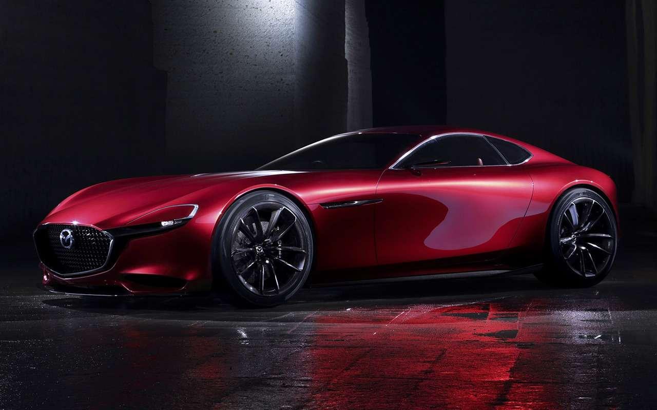Все мечтают оновом роторном спорткаре Mazda, но…