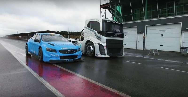 Серьезная драка: Volvo изразных миров выяснили отношения