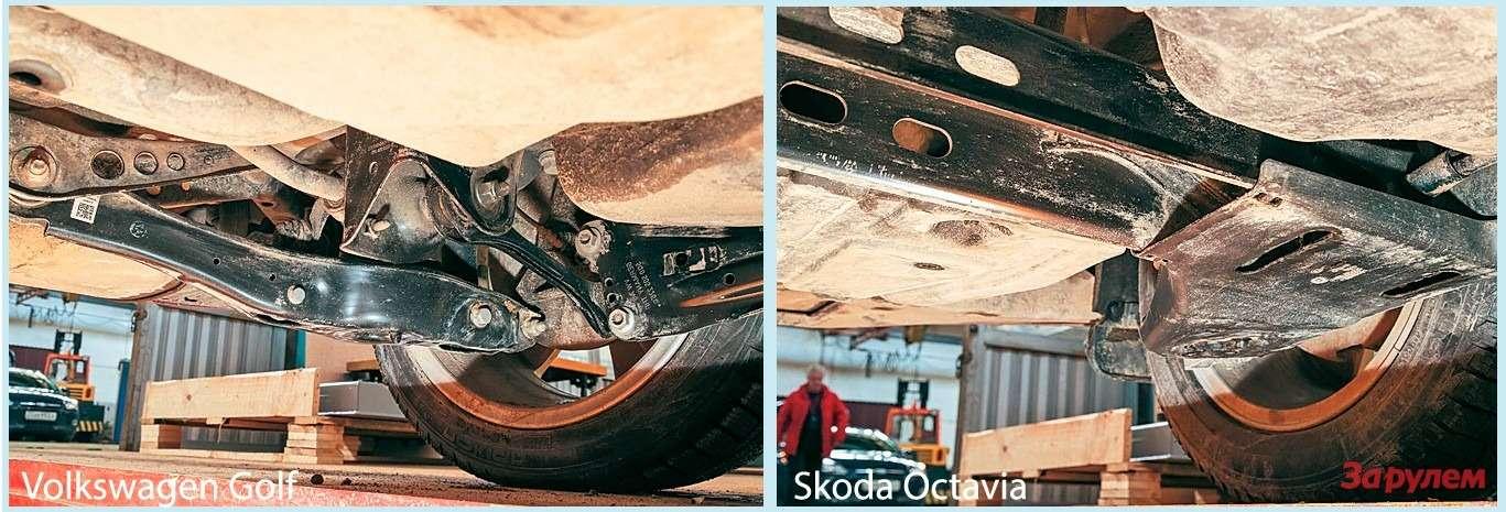 Наодной платформе: VWGolf, SEAT Leon, Skoda Octavia — фото 263766
