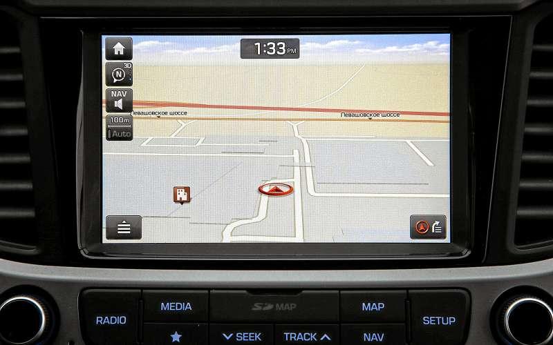 Навигация Hyundai Solaris 2