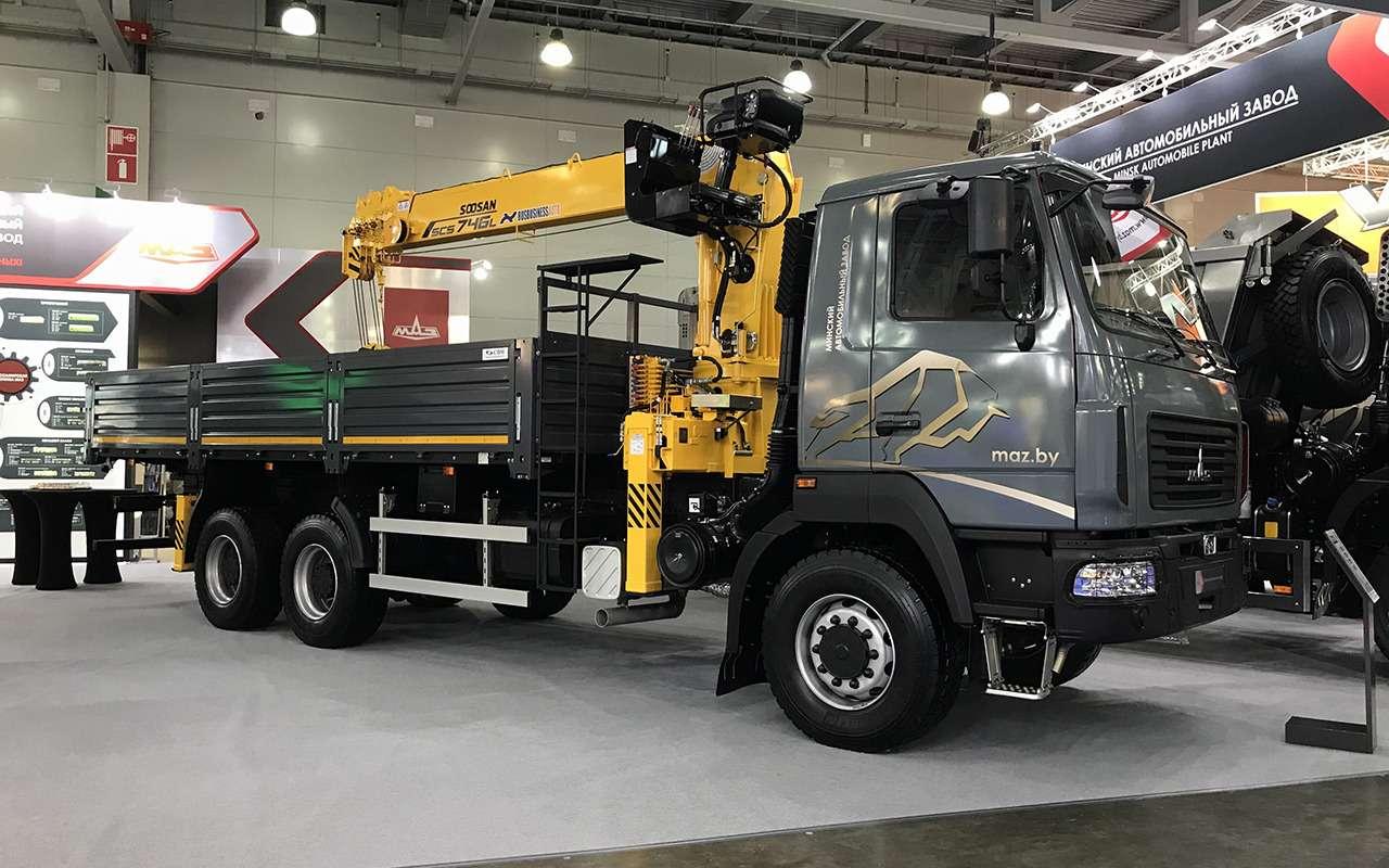 Всетяжелые грузовики наCOMTRANS 2021— фото 1276743
