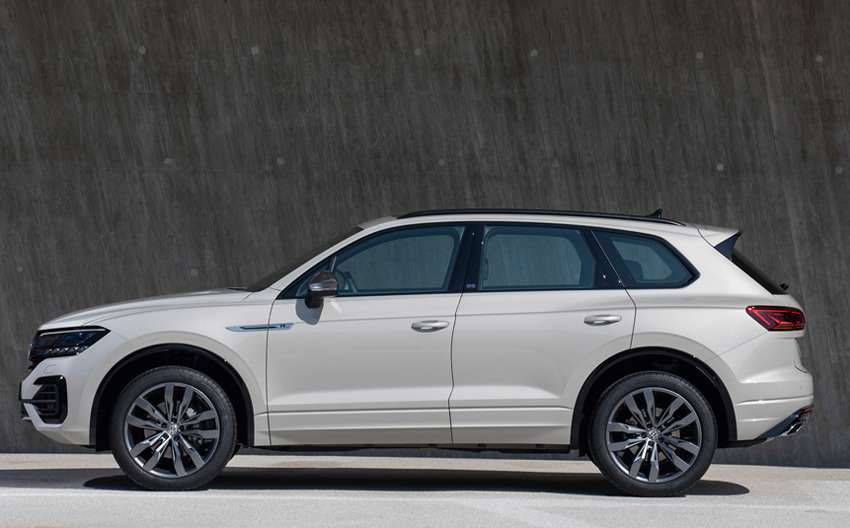 Новая версия Volkswagen Touareg — ONE Million — фото 988967
