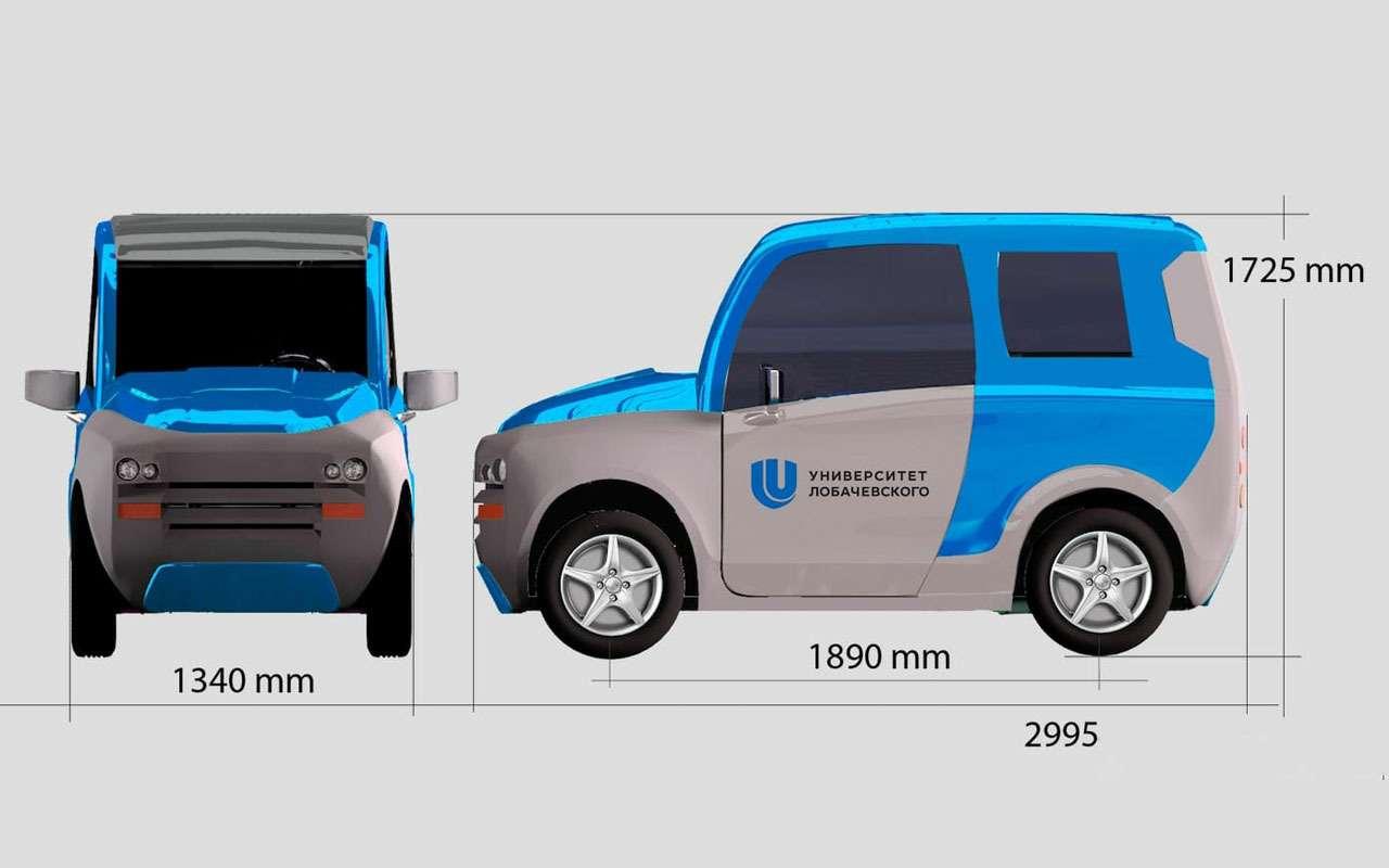 Нашновый автомобиль Zetta: все нестандартные инженерные решения— фото 977240