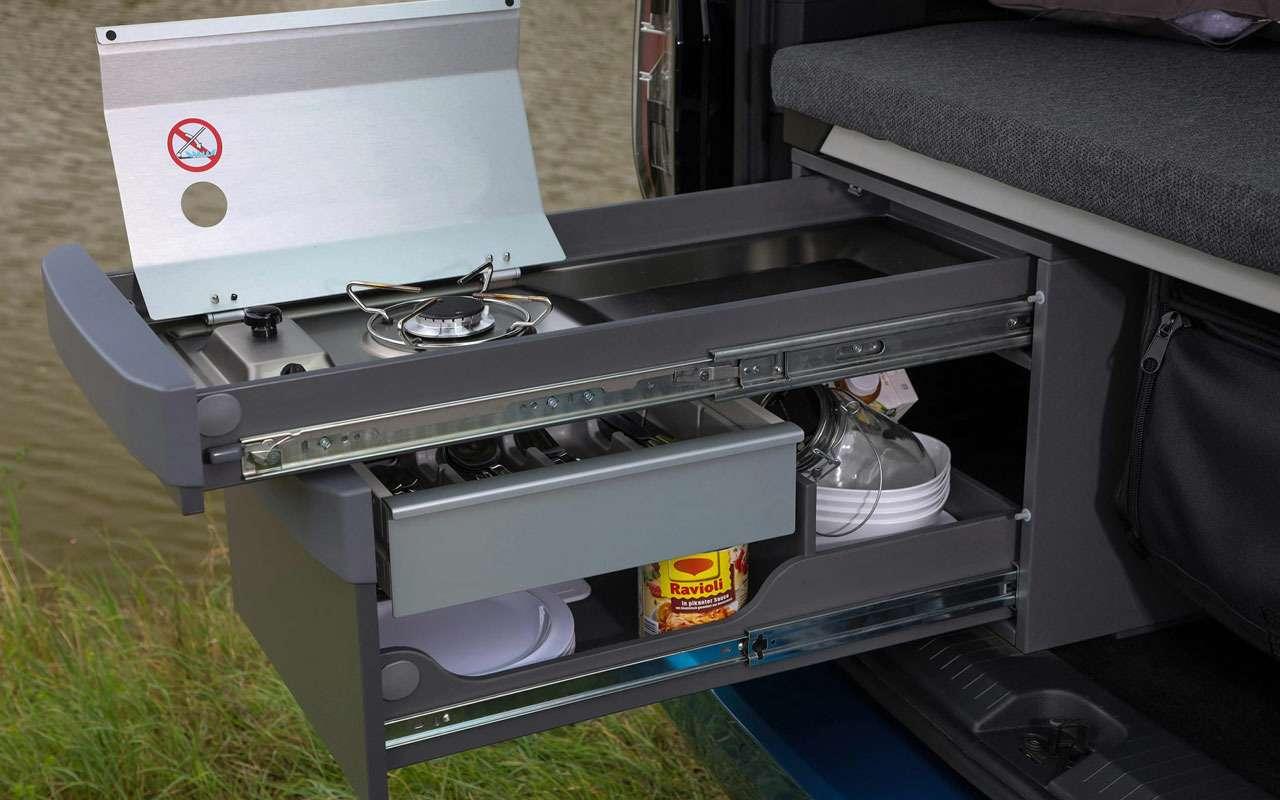 VWпоказал новый кемпер Caddy California— фото 1165245