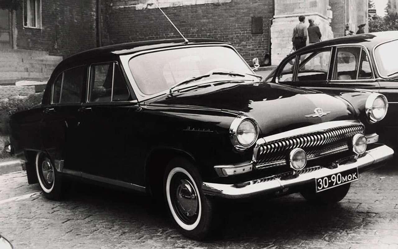 В гараже ушпионов: секретные автомобили СССР— фото 834133