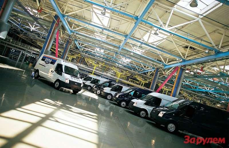 В этом году назаводе «Соллерс-Елабуга» приступили ксборке фургонов «Форд-Транзит».