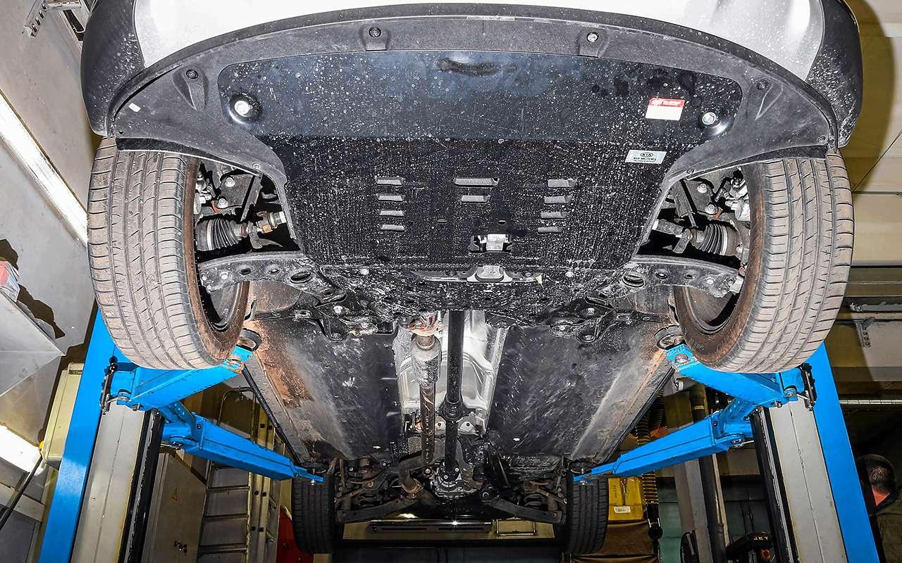 Hyundai Santa Feпротив конкурентов: большой тест кроссоверов— фото 931477