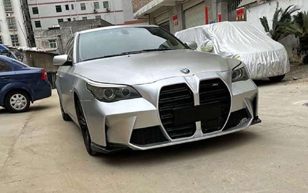 Сумасшедшие: они ставят гигантские «ноздри» настарые BMW