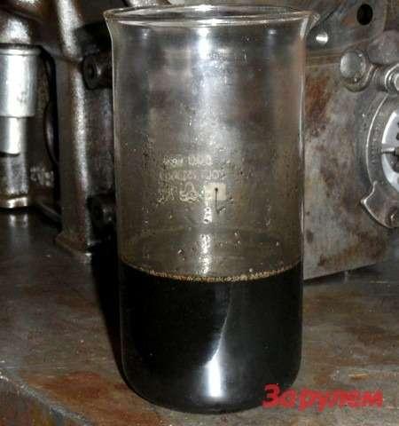 Заменее чем 3000 тысячи километров пробега масло превратилось вжуткую черную густую бодягу.