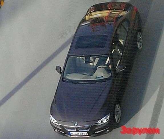 BMW3-Series top view