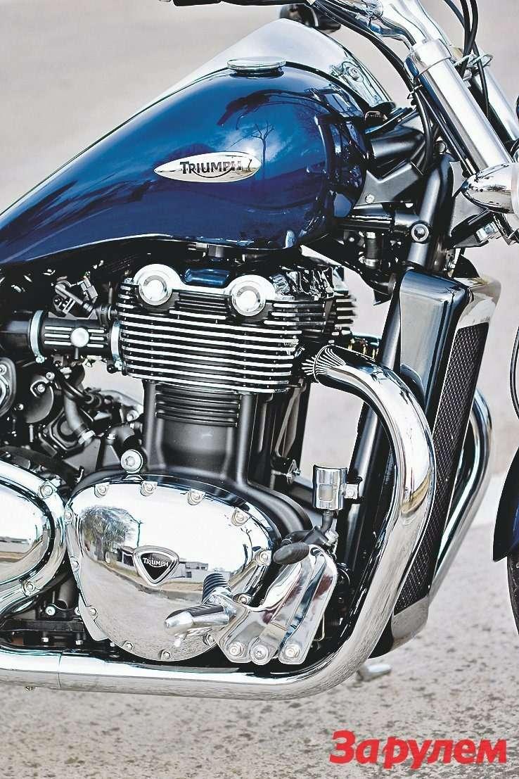 Силовой агрегат Triumph Thunderbird