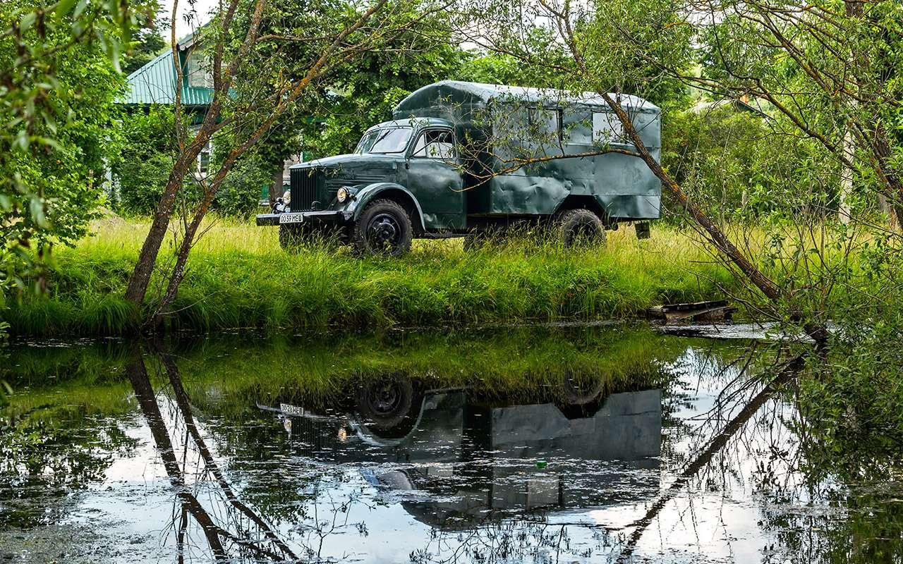 Свой парень: ретротест грузовика  ГАЗ-51— фото 845813