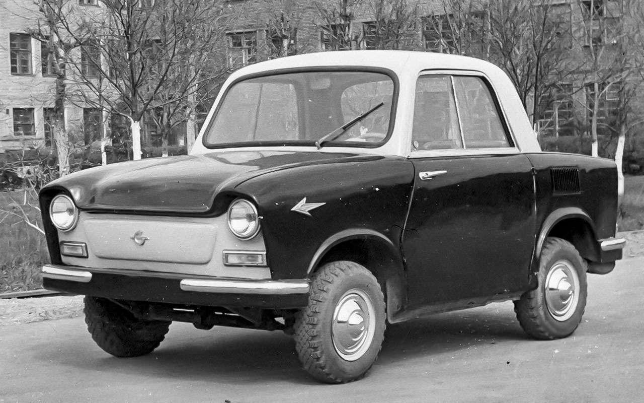 13народных автомобилей СССР, которых какбы не было— фото 1001095