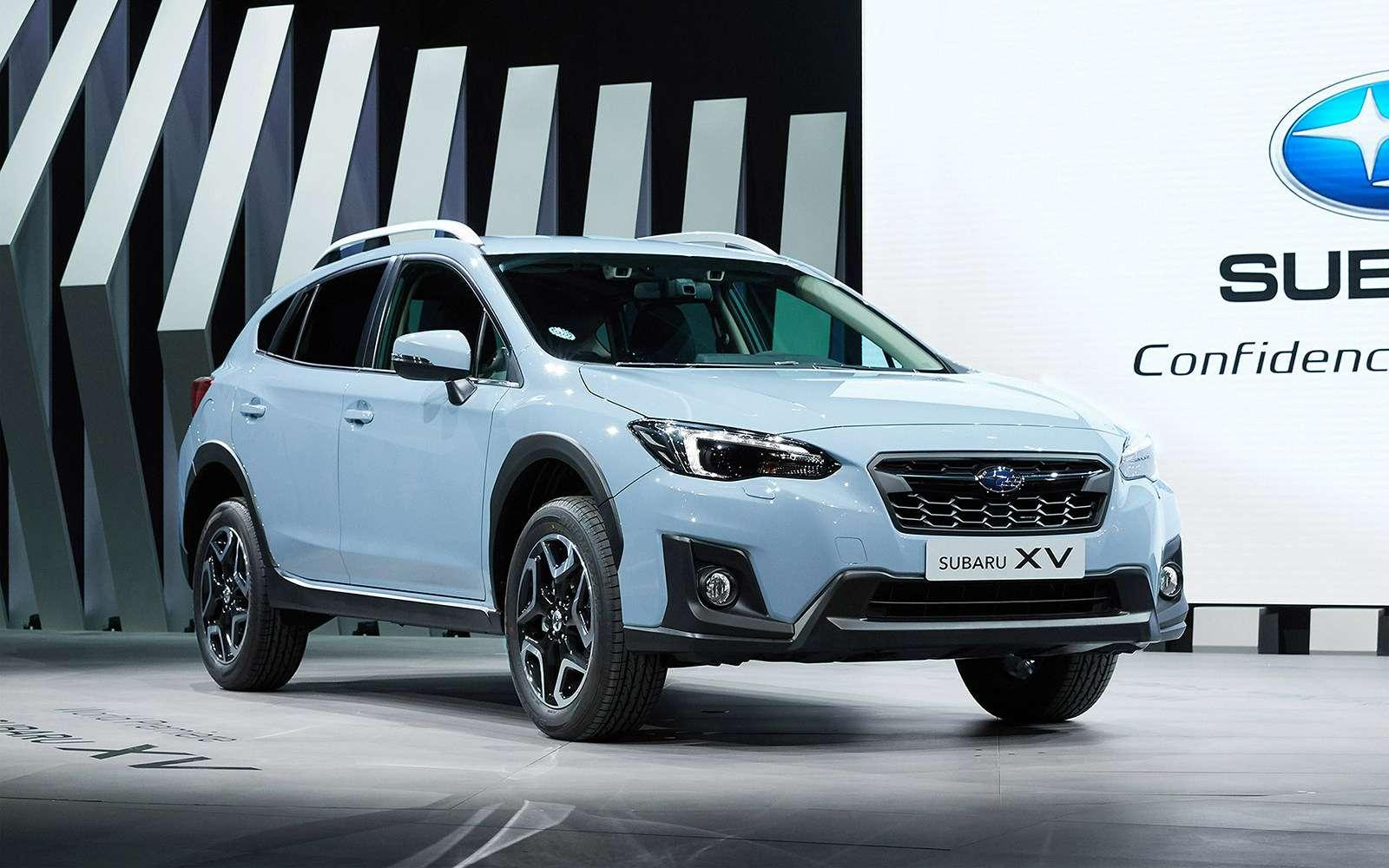 Новый Subaru XVбудет поступать ссоперниками жестко!— фото 717932