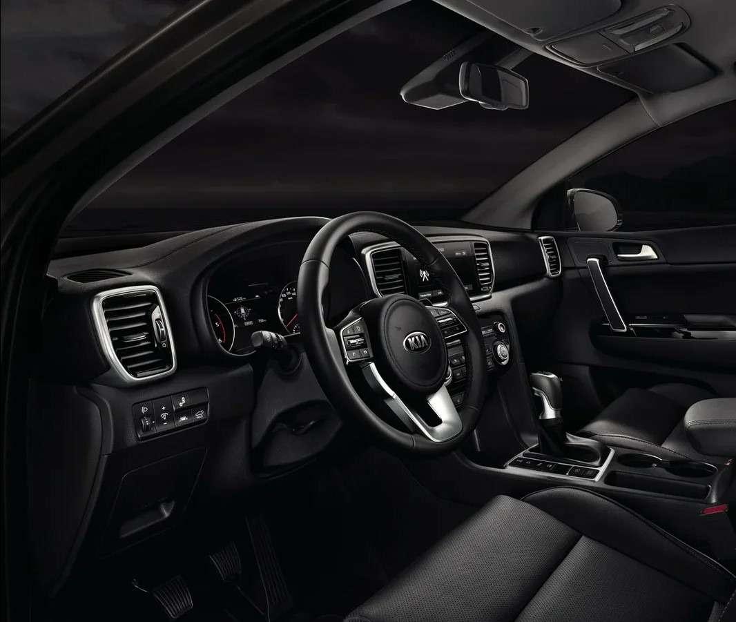 «Черная» версия Kia Sportage— продажи начались— фото 1220423