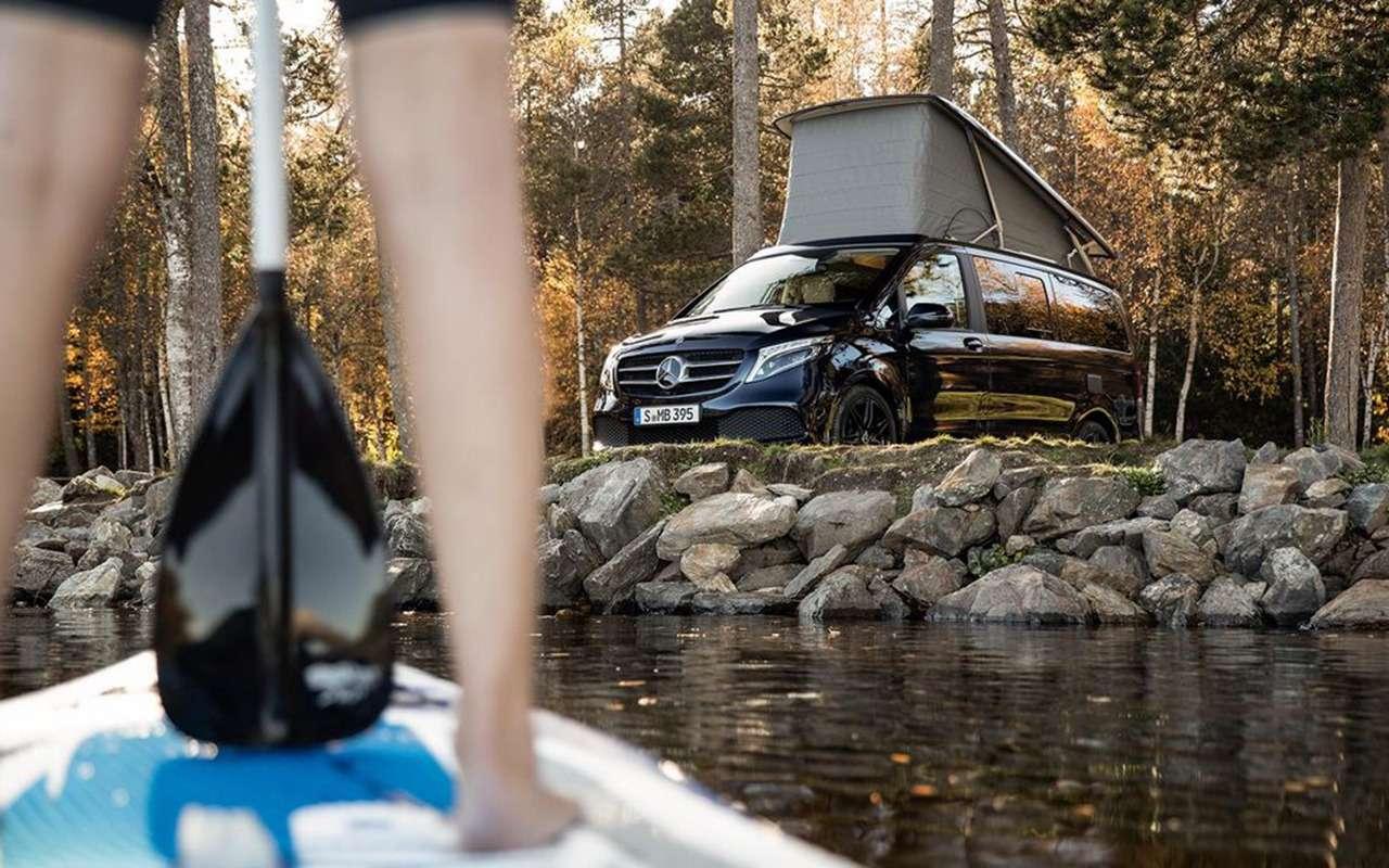Автодом Mercedes-Benz выполняет команду: «Эй, Мерседес!»— фото 1019285