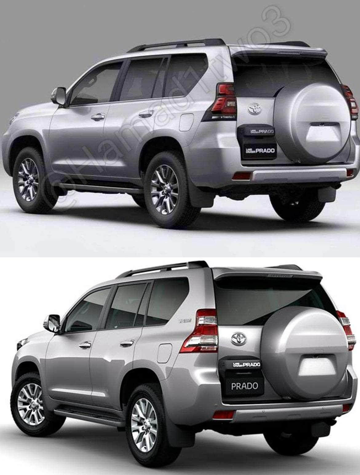 Обновленный Toyota Land Cruiser Prado— первые фотографии— фото 768324