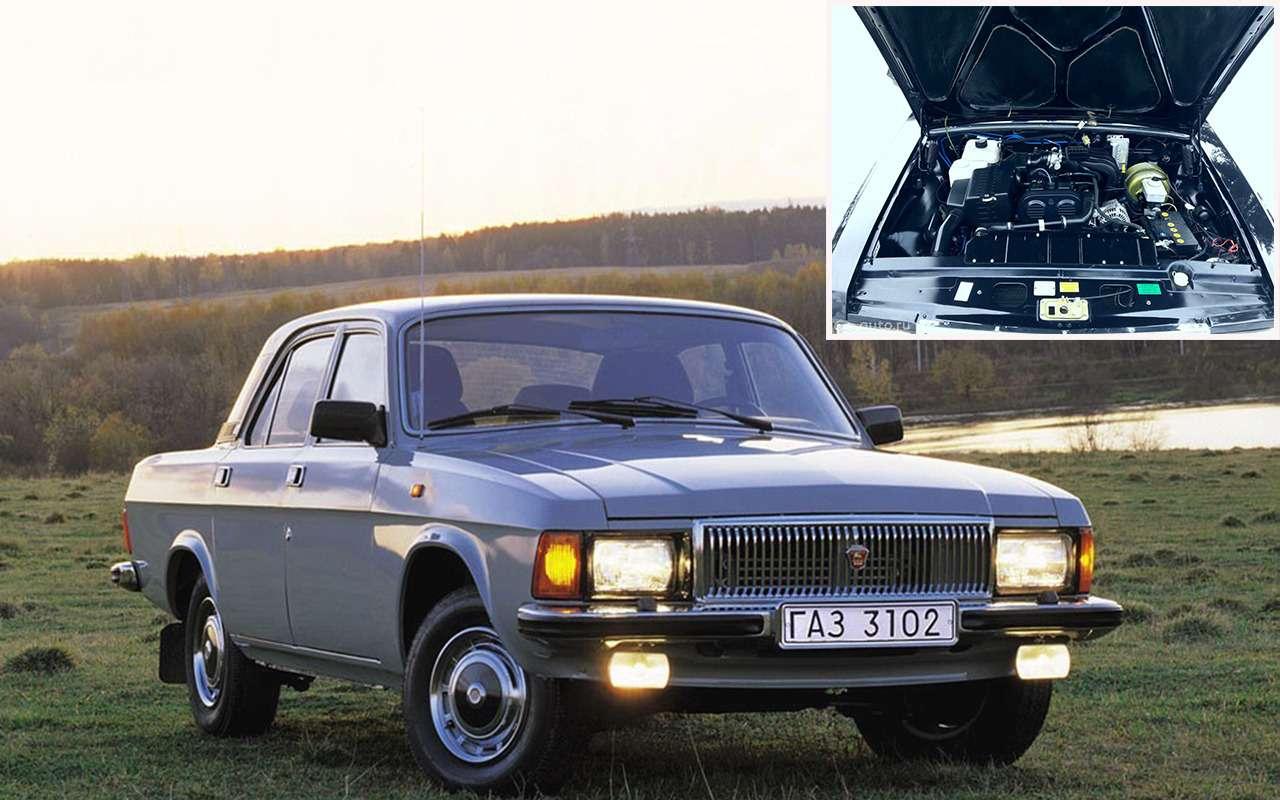 УАЗ, Нива, Волга...— 13наших моделей синостранными моторами— фото 943901