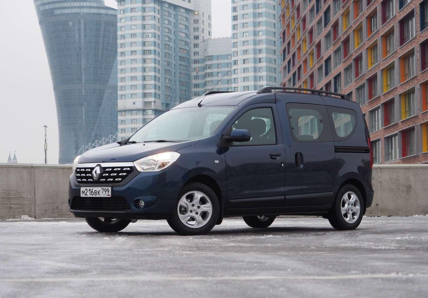 Renault Dokker— первый тест ипервые вопросы— фото 825724