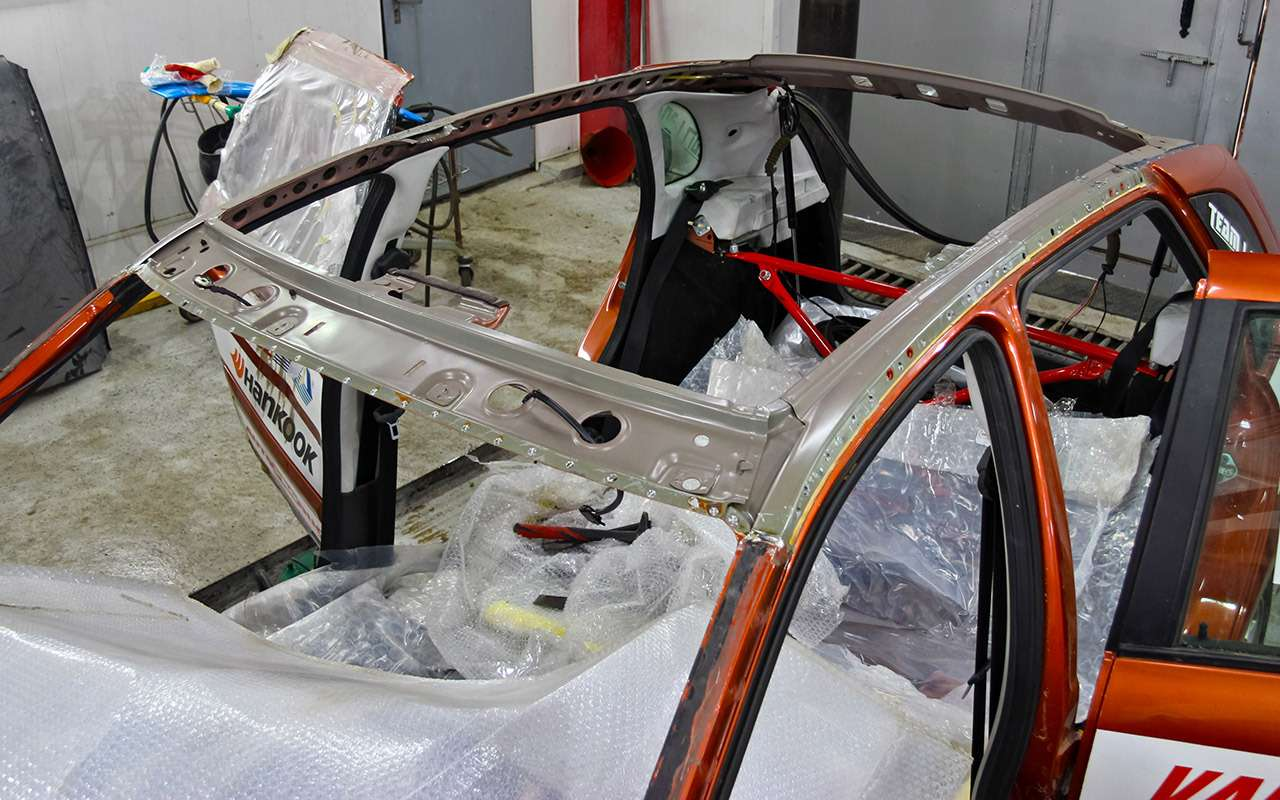 Бюджетный кузовной ремонт, или Как мывосстанавливали Калину после переворота— фото 901694