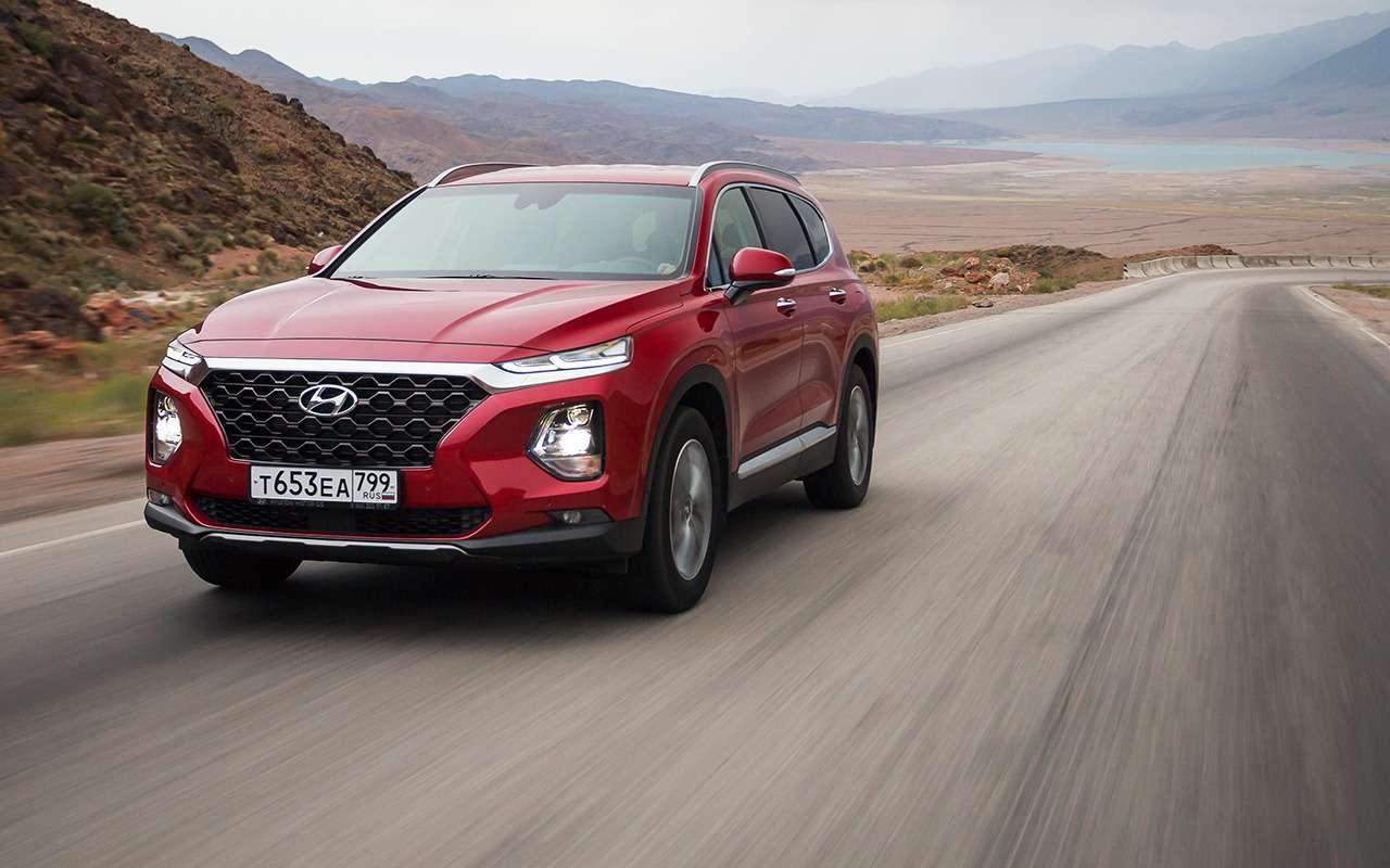 Новый Hyundai Santa Fe: когда дизель лучше бензина— фото 906655