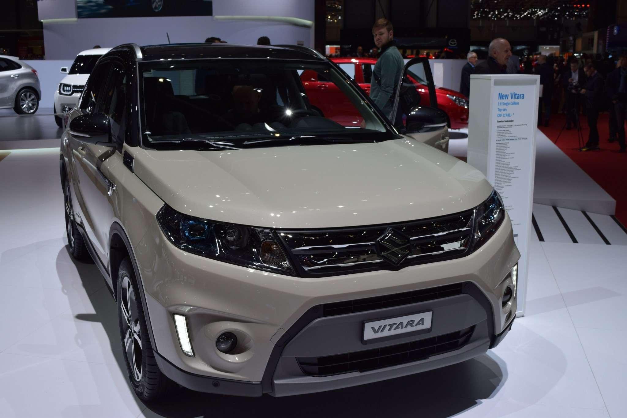 Suzuki предложит новую Vitara вРФпоцене менее 1млн руб.— фото 368909