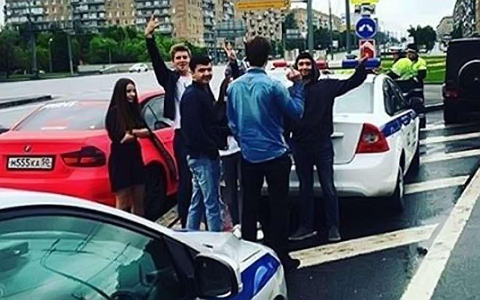 ВМоскве случайно задержали участника «гонки наГелендвагене»