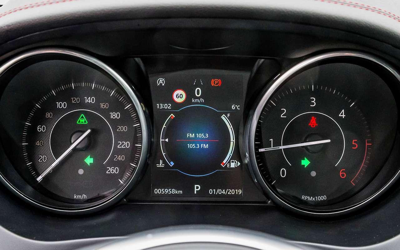 Большой тест маленьких, нодорогих кроссоверов: Volvo, Lexus, Jaguar— фото 983808