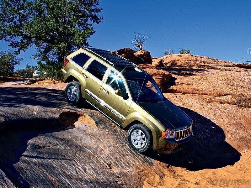 Презентация Jeep Cherokee, Jeep Commander: Время разбрасывать камни— фото 91310