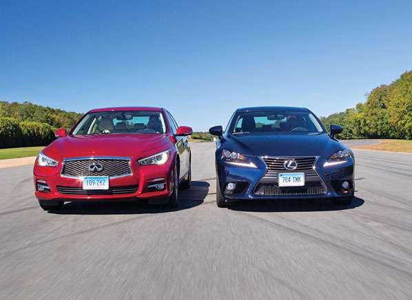 Consumer Reports раскритиковал Lexus IS 250 и Infiniti Q50