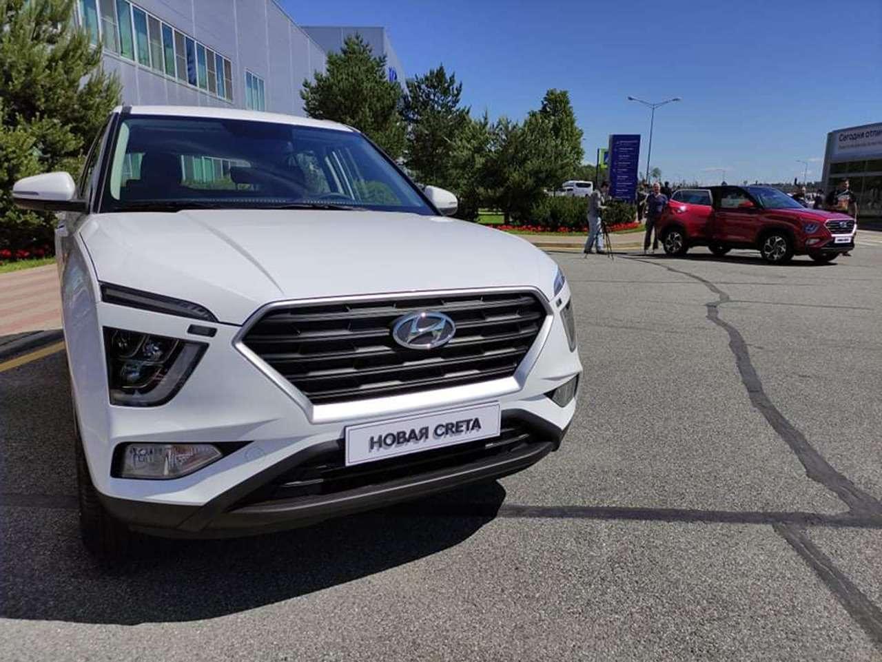 Новая Hyundai Creta дляРоссии: премьера ипервые фото— фото 1254455