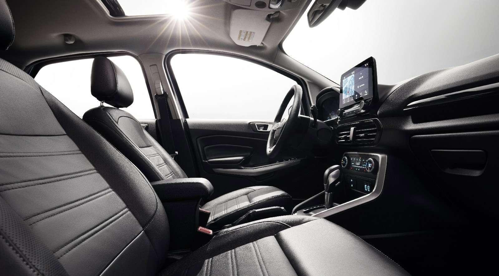 Обновленному паркетнику Ford EcoSport прикрутили планшет— фото 664110