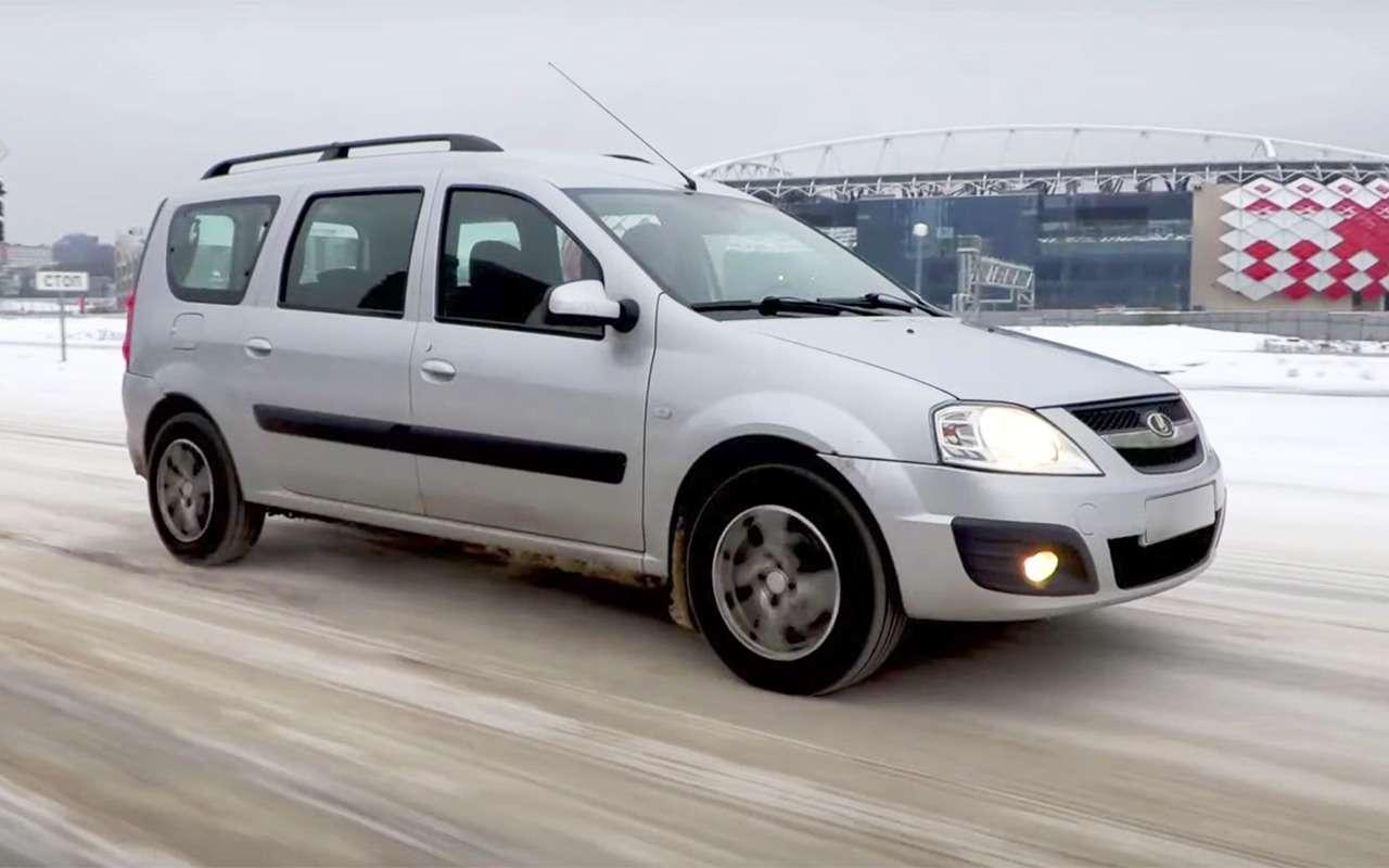Lada Largus навторичке: неубиваемая подвеска икапризная электрика— фото 1211906