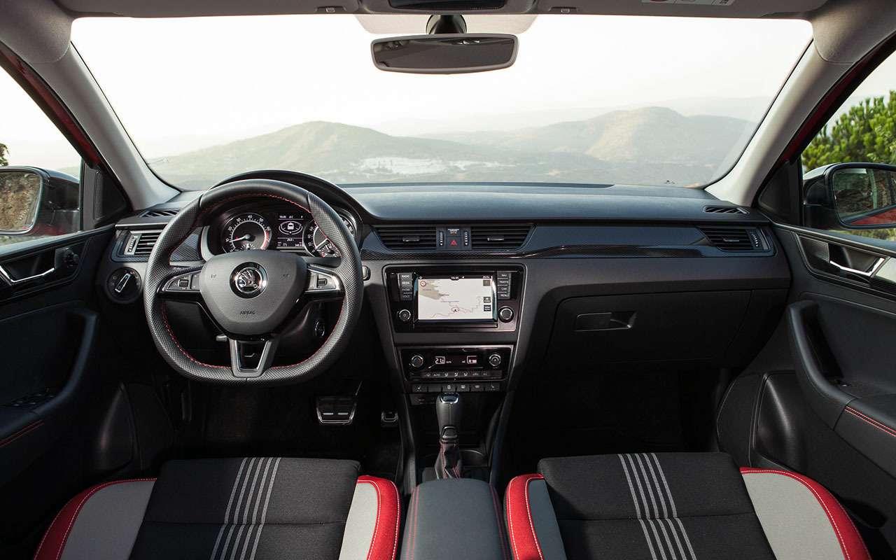 Skoda Rapid или Volkswagen Polo— ЗРпомогает сделать выбор— фото 792146