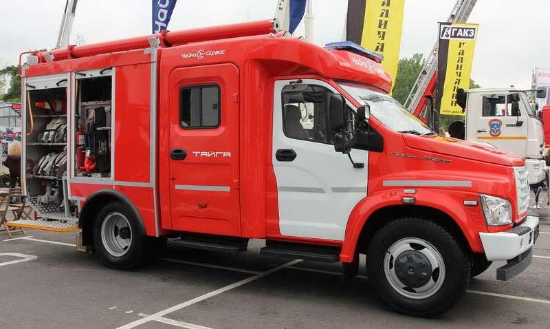 Пожарная машина АЦ-1,0-40/4на базе ГАЗона Next