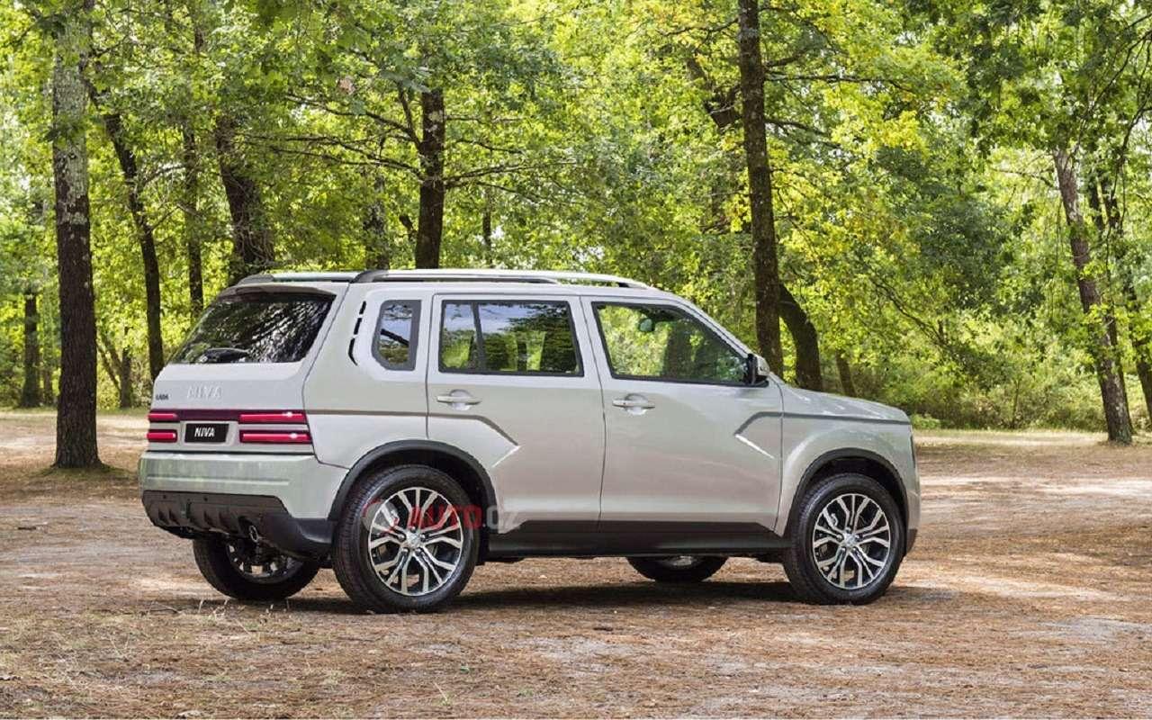 Новые рендеры следующего поколения Lada 4x4 Niva— фото 1119823