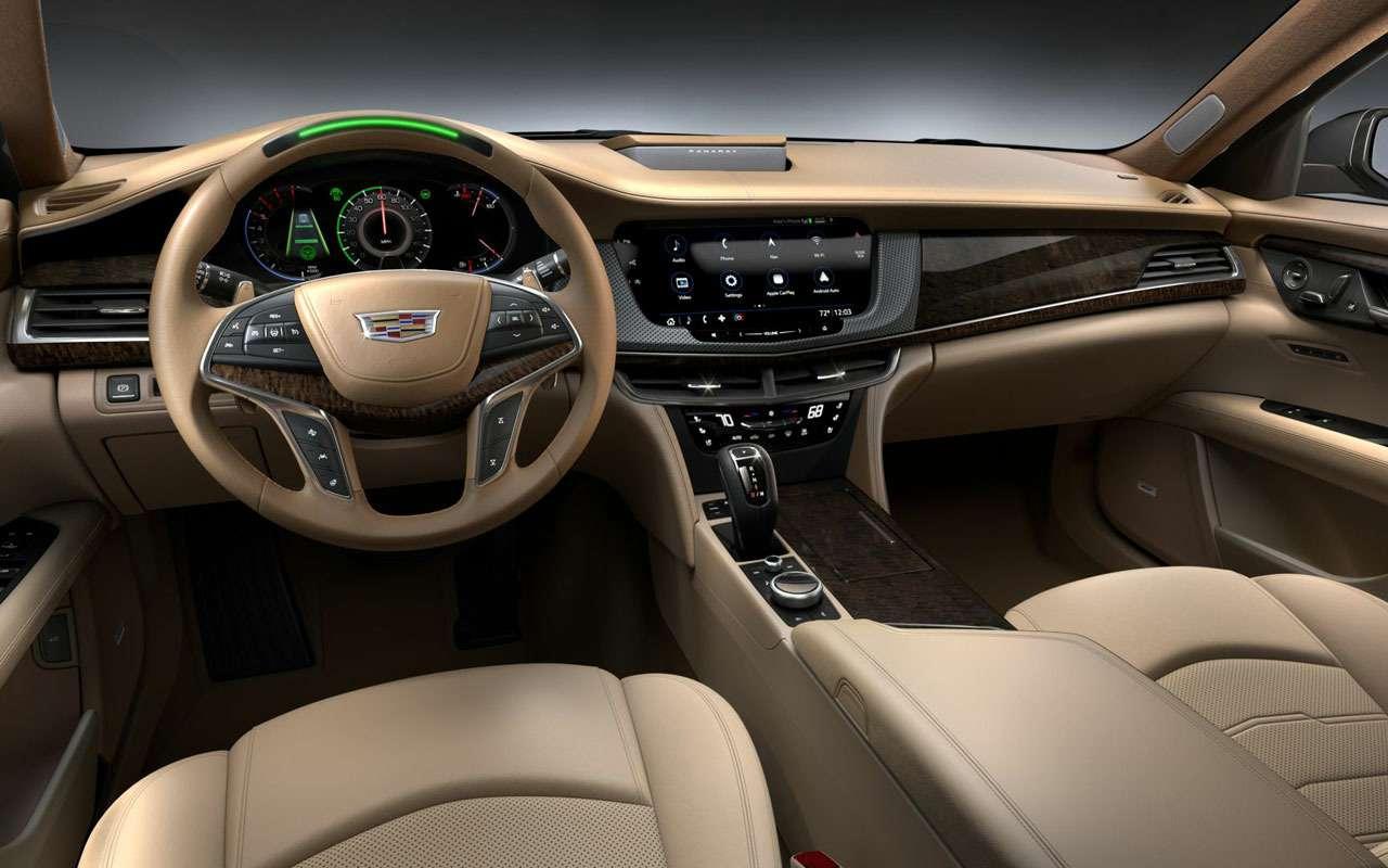 КаквАмерике: российские цены наобновленный Cadillac CT6— фото 982457